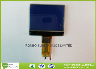 Blue Transmissive Graphic COG LCD Module Square Shape With SPI Interface