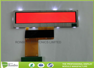 Small Size Bar TFT LCD Display 3.8'' Resolution 480x76 40 Pin RGB Interface