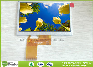 4.3 inch TFT LCD Display Resolution 480x272 with RGB interface Option Touch Screen